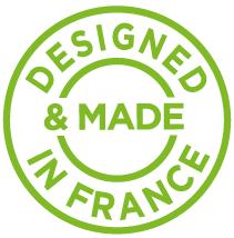 DTF - Designed & made in France pictogram